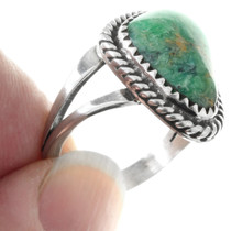 Navajo Turquoise Sterling Silver Ring 41616