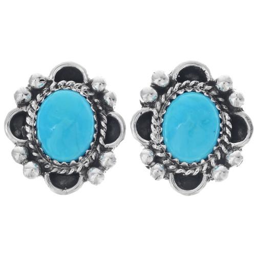 Kingman Turquoise Earrings 27223