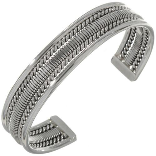 Native American Sterling Silver Bracelet12899