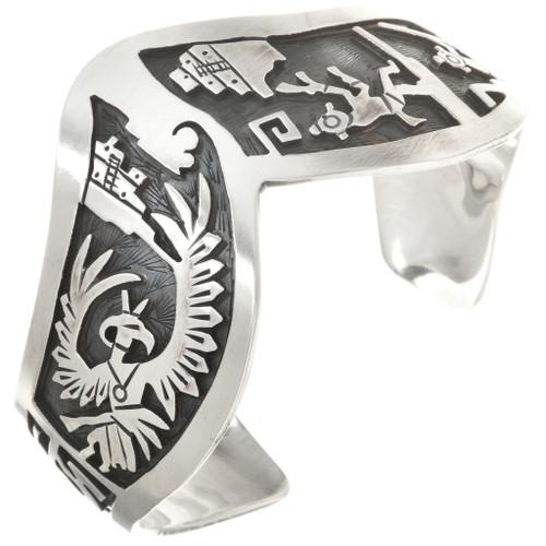 Navajo Sterling Silver Bracelet 24550