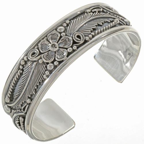 Navajo Sterling Cuff Bracelet 12782