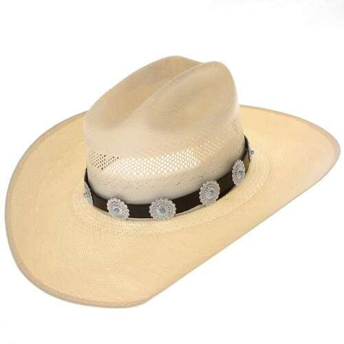 Turquoise Concho Hat Band 24237