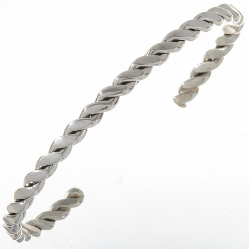 Twist Wire Native American Silver Cuff 14860