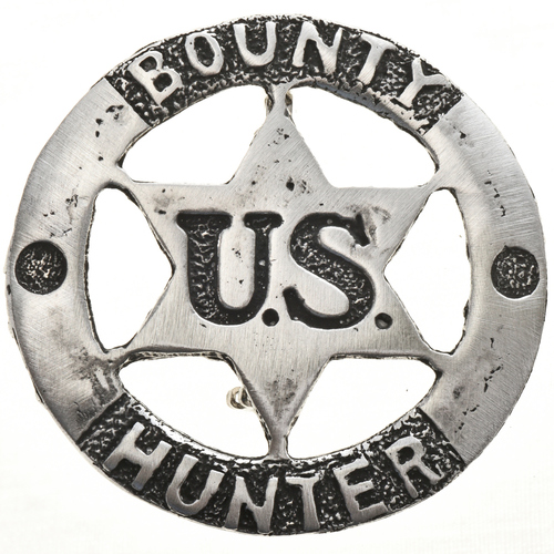 US Bounty Hunter Silver Badge 13119