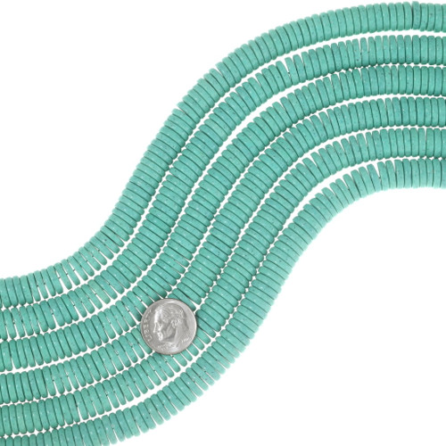 Real Turquoise 10mm Beads 25496
