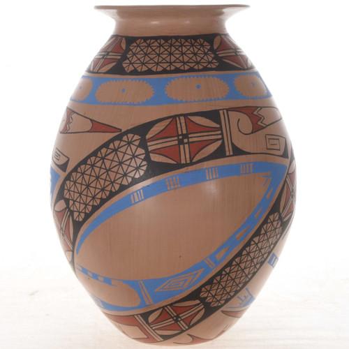 Polychrome Indian Pottery 25028