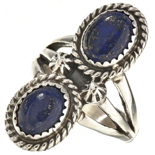 Native American Lapis Ring 25930