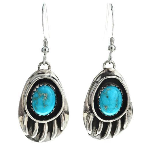 Navajo Turquoise Dangle Earrings 26277