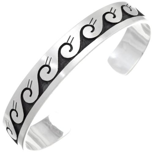 Overlaid Silver Symbol Bracelet 26143