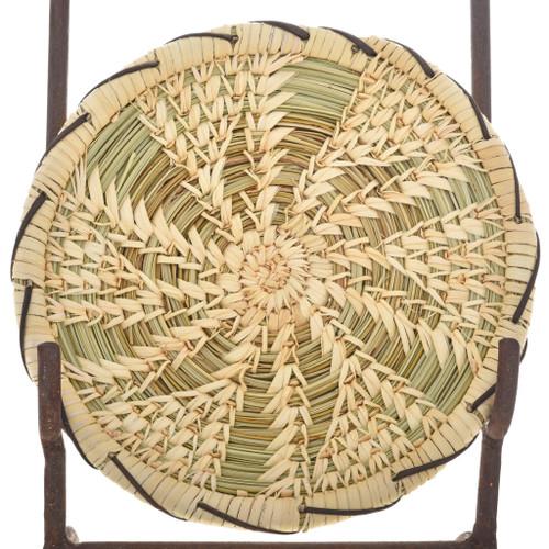 Papago Indian Basket Plate 22880