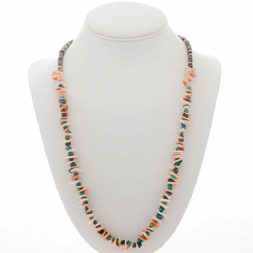 Turquoise Shell Native American Necklace 10918