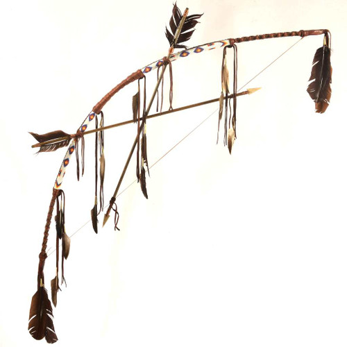 Plains Indian Bow Arrows 25382