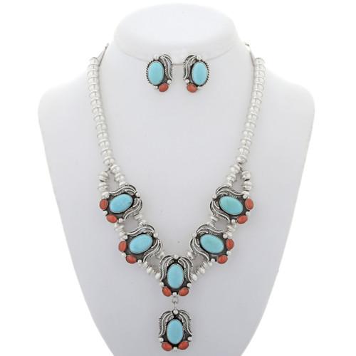 Turquoise Jewelry Set 23355
