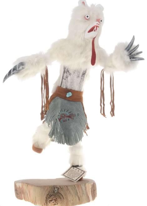 Large White Bear Kachina Doll 22617 22617