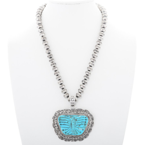 Turquoise Butterfly Pendant 25454