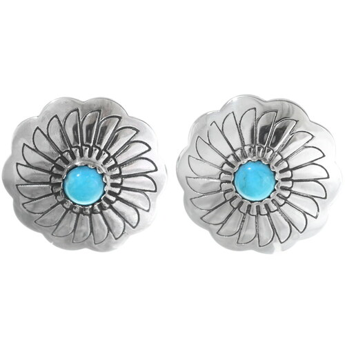 Turquoise Post Earrings 23448
