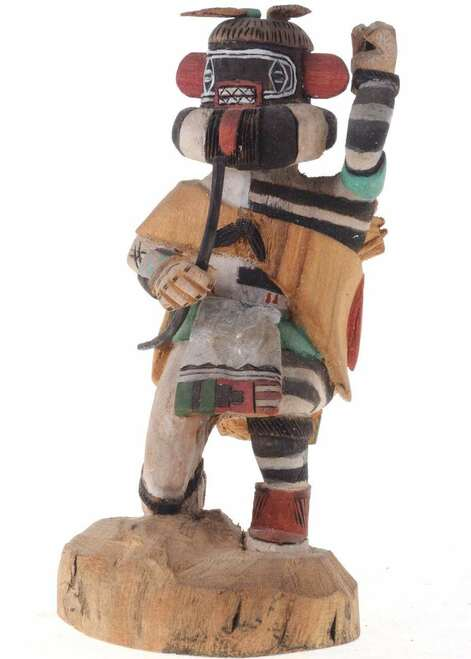 Hopi Kachina Doll Left Hand 23156