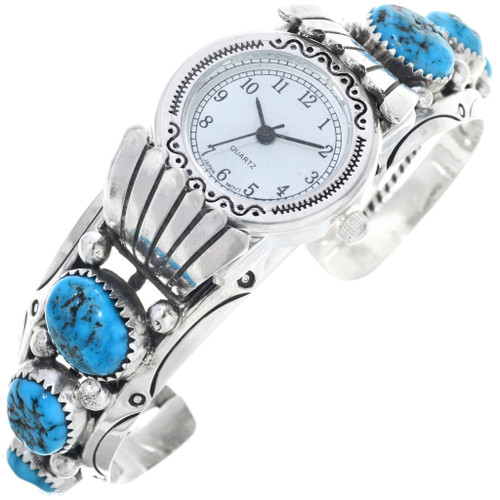 Ladies Turquoise Watch Bracelet 24482