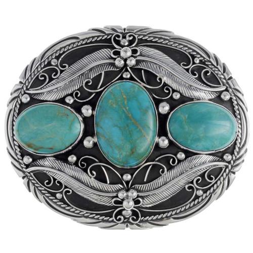 Turquoise Belt Buckle 19606