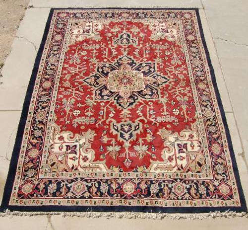 Hand Knotted Wool Rug 25103