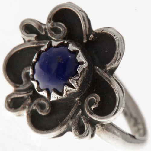 Small Lapis Navajo Ring 11331