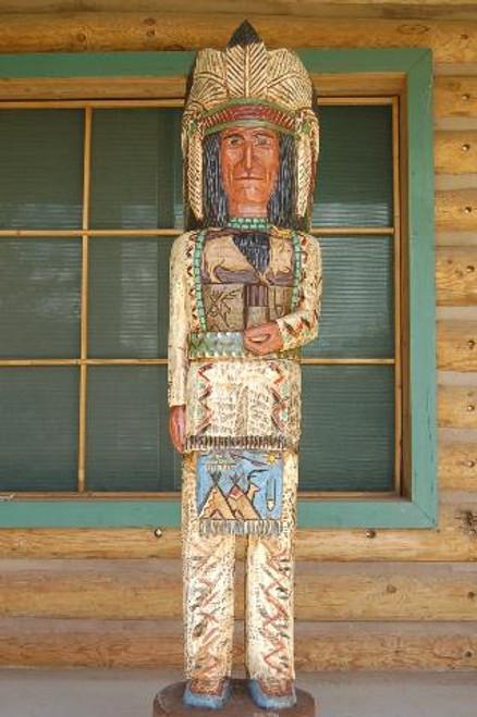 Buffalo Chief Cigar Store Indian 33987