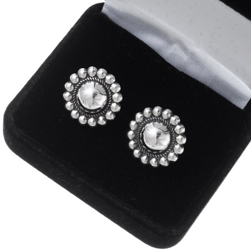 Sterling Silver Southwest Cuff Links 19621