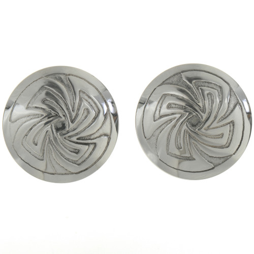 Whirlwind Concho Pattern Cuff Links 20887