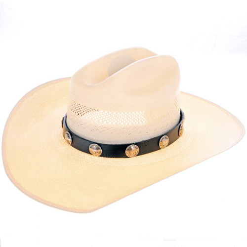 Buffalo Nickels Hatband 24607