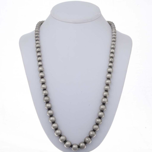 Native american Desert Pearl Beaded Necklace 23449
