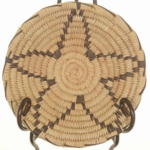 Vintage Papago Star Basket Bowl 25710