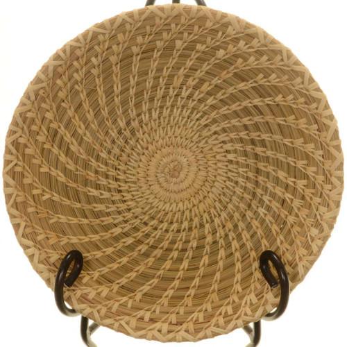 Vintage Tohono Beargrass Basket 25771