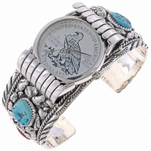 Southwest Silver Mens Watch 24505