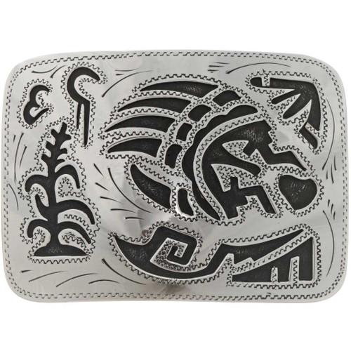Bear Paw Silver Belt Buckle 22896