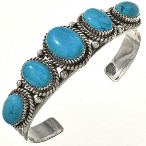 Native American Turquoise Cuff Bracelet 22552