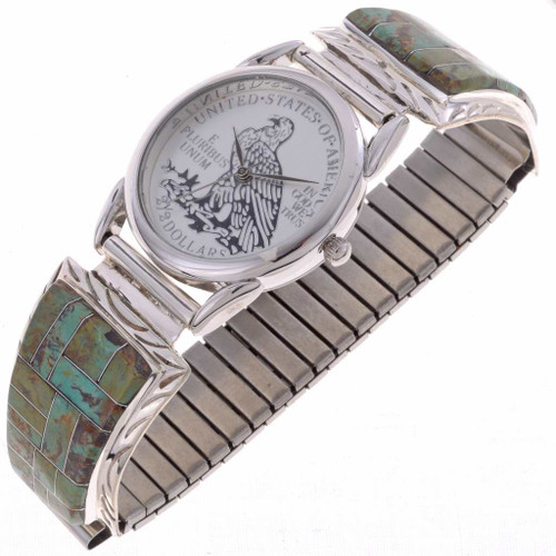 Turquoise Mens Watch 24521