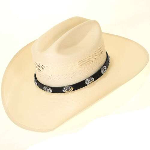 Silver Bohlin Style Hatband 25485