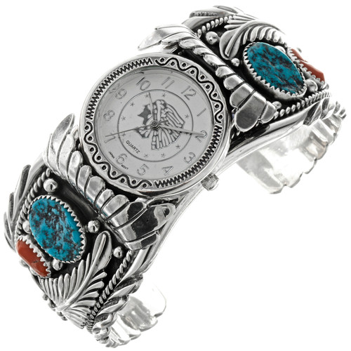 Turquoise Coral Mens Watch 13279