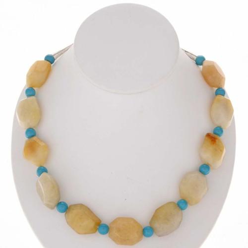 Navajo Chunky Beaded Necklace 25437