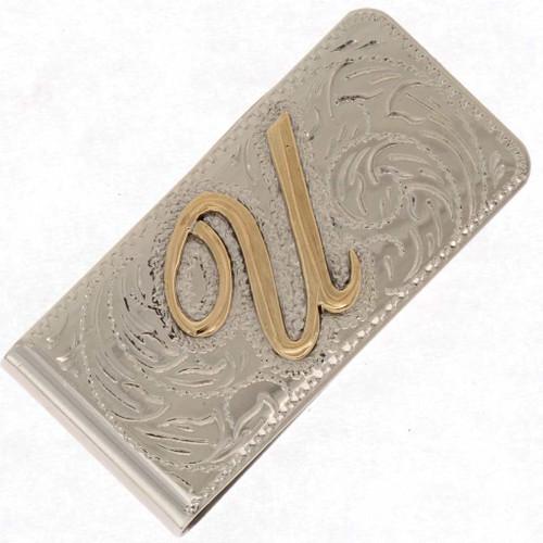 Custom Initial Money Clip 25184