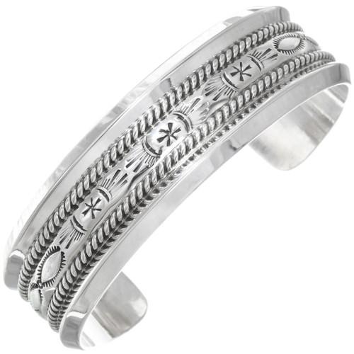 Navajo Sterling Silver Cuff Bracelet 23426