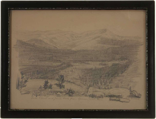 Landscape Pencil Drawing 27185
