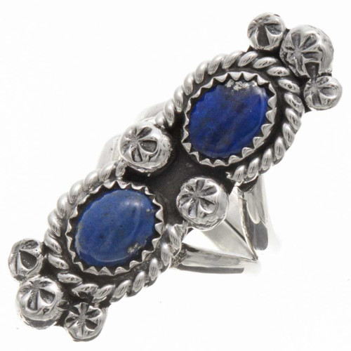 Native American Lapis Ring 25885