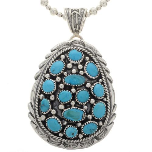 Sleeping Beauty Turquoise Pendant 16234