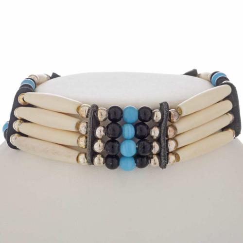 Apache Style Bone Choker 25418