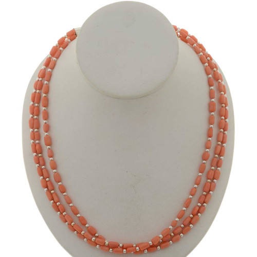Angelskin Coral Ladies Necklace 26876