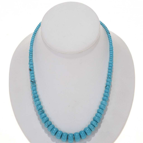 Turquoise Rondelle Beads 25512