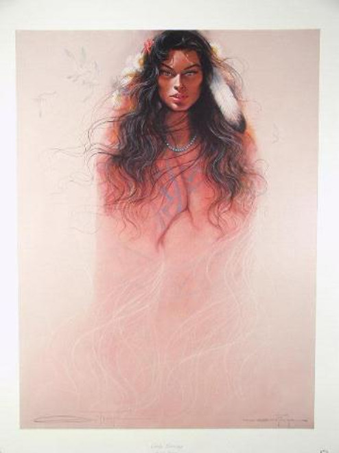 """Ozz Franca """"Early Morning"""" Limited Edition Print"""