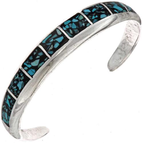 Turquoise Silver Bracelet 25505