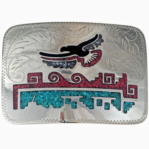 Soaring Eagle Belt Buckle 19466